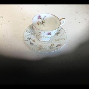 Vintage Kitchen - Vintage Antique Cup & Saucer Set